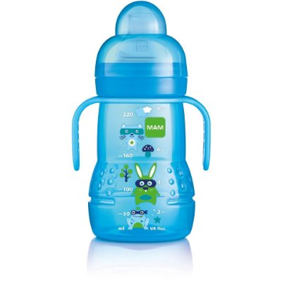 Copo MAM Trainer+ Boys 220ml - Azul