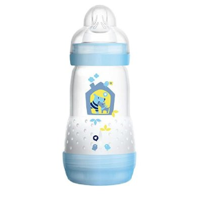 Mamadeira MAM 260ml First Bottle Azul - 2m+