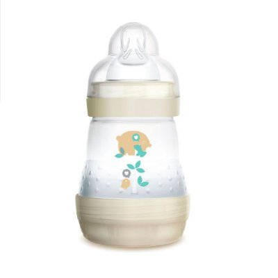 Mamadeira MAM 160ml First Bottle Bege - 0m+