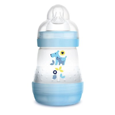 Mamadeira MAM 160ml First Bottle Azul - 0m+