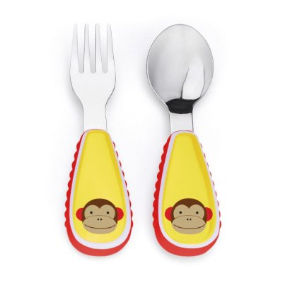 Conjunto de Talheres Skip Hop Zoo - Macaco