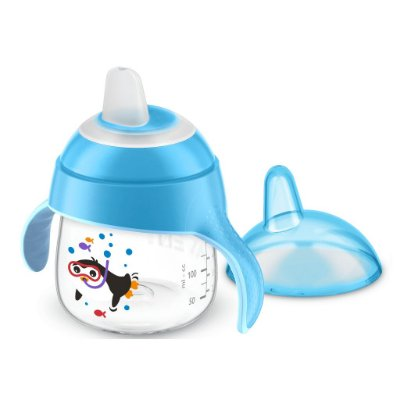 Copo Pinguim Philips Avent 200ml Antivazamento - Azul