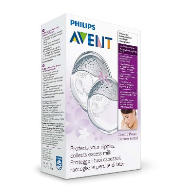 Conjunto de Conchas Protetoras para Seio com 6 peças - Philips Avent