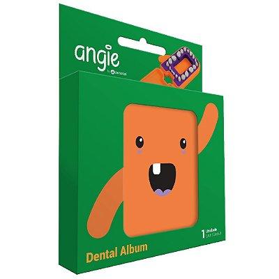 Porta dente de Leite Divertido Angie - Laranja
