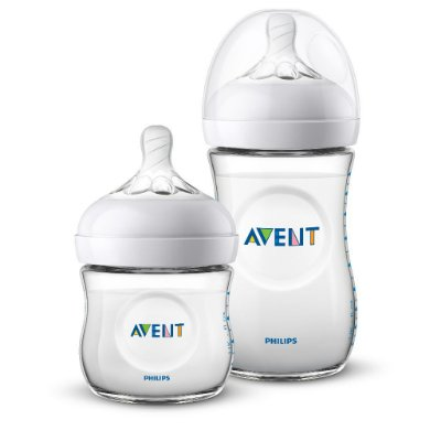 Kit 2 Mamadeiras Avent Philips Pétala 125ml e 260ml