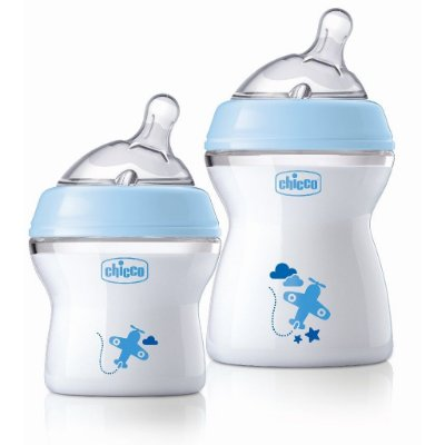 Kit 2 Mamadeiras Chicco Stepup Azul 1 De 150ml E 1 De 250ml