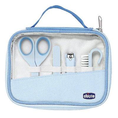 Kit Higiene e Cuidados do bebê Manicure Completo Azul Chicco