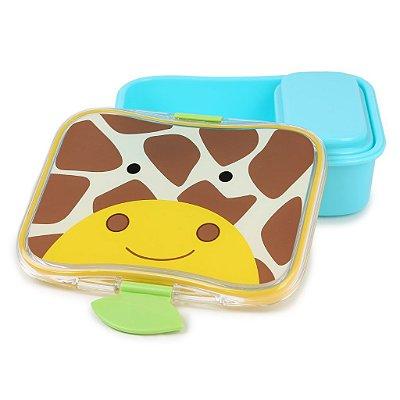 Kit Lanche Marmita Skip Hop Zoo Girafa