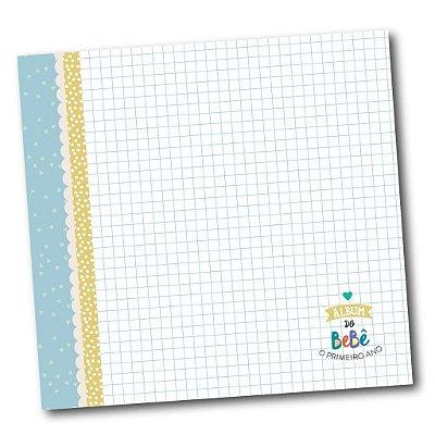 Álbum do Bebê Completo Azul Coloré