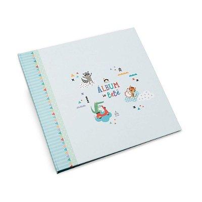 Álbum do Bebê Bichinhos Completo Verde Coloré