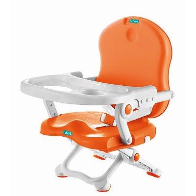Cadeira de Alimentação Portátil Para bebê Laranja - Bebeliê