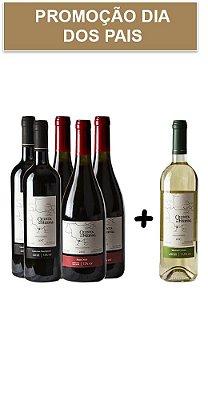 Mix Dia dos Pais + Vinho Branco Grátis