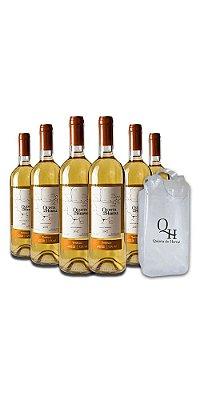 Compre 6 Vinhos Brancos Trebbiano - Quinta do Herval e ganhe uma sacola cooler