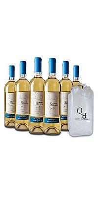 Compre 6 Vinhos Brancos Riesling - Quinta do Herval e ganhe uma sacola cooler