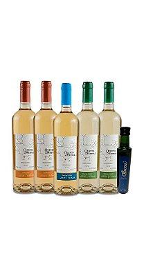 Combo Vinhos Brancos - Brinde Azeite de Oliva