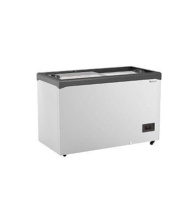 Freezer Conservador Horizontal Tampa de Vidro Com Iluminação 410 litros GHD-41E L CZ Gelopar
