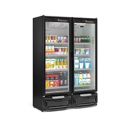 Refrigerador Vertical Conveniência 2 Portas - GCVR-950PR - GELOPAR