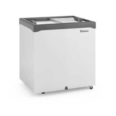 Freezer Conservador Horizontal Tampa de Vidro 220 litros GHDE-220H  Gelopar