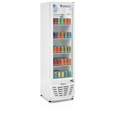 Refrigerador de bebidas vertical porta de vidro 228 litros - GPTU-230 - Gelopar