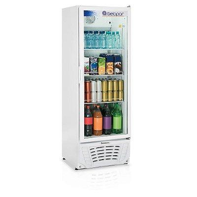 Refrigerador de bebidas vertical porta de vidro 414 litros 220V - GPTU-40 - Gelopar