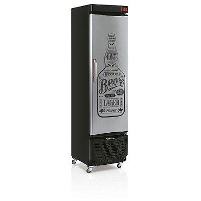 Refrigerador de Bebidas Cervejeira 230 litros GRBA-230EGW Gelopar