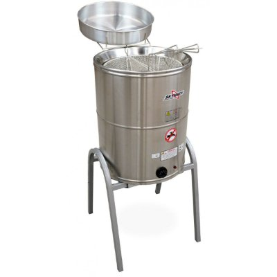 Fritador elétrico água e óleo inox - FC-CB-N - Skymsen