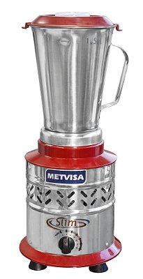 Liquidificador industrial 1,5 litros alta rotação em inox LAR 1.5 Metvisa