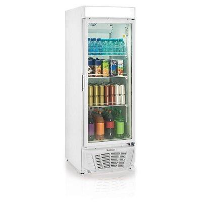 Refrigerador de bebidas conveniência linha Esmeralda vertical porta de vidro 572 litros - GLDR-570 - Gelopar