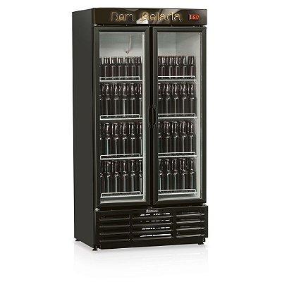 Refrigerador de bebidas cervejeira duas portas de vidro 760 litros - GRBA-760PV - Gelopar