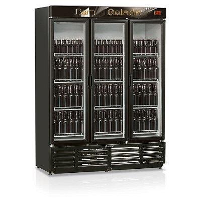 Cervejeira 3 Portas de Vidro 1180 litros GRBA -1180 PV Gelopar