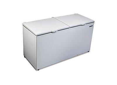 Freezer conservador horizontal tampa cega 546 litros - DA-550 - Metalfrio