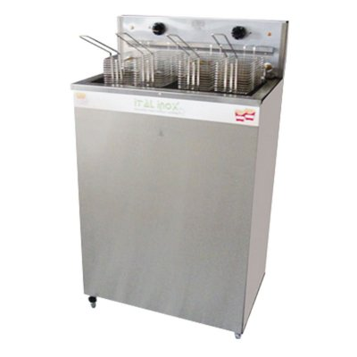 Fritadeira elétrica 36 litros 18/18 água e óleo inox - FAOI-36 - Ital Inox
