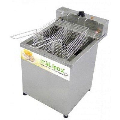 Fritadeira elétrica 18 litros água e óleo inox - FAOCI-18 - Ital Inox