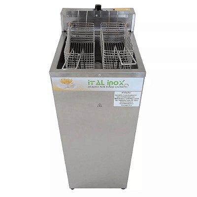 Fritadeira Industrial Elétrica Água e Óleo 18L FAOCI-18 - Ital Inox