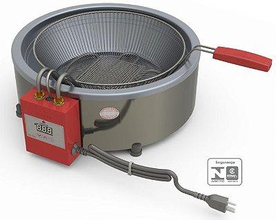 Fritadeira em tacho elétrica 7L - PR70E - Progás
