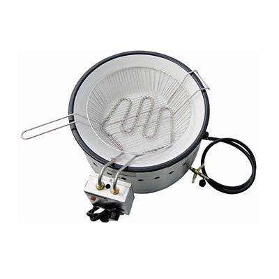 Fritadeira em tacho elétrica e a gás 3 litros - TFEI3Flex - Ital Inox