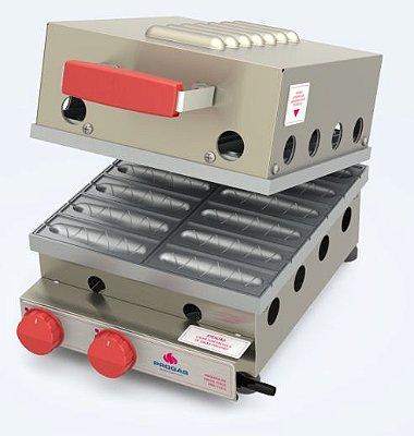Máquina de crepes suíço a gás - PRK120G - Progás