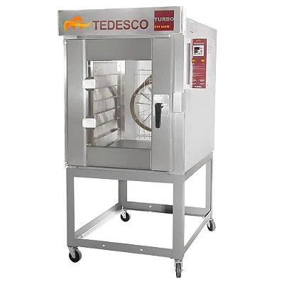 Forno Turbo 8 Esteiras a Gás - FTT240G - Tedesco