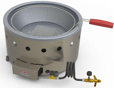 Fritadeira em tacho a gás 7 litros PR-70G Progás