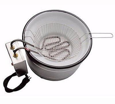 Fritadeira em tacho elétrica 7 litros TFEI-7 Ital Inox