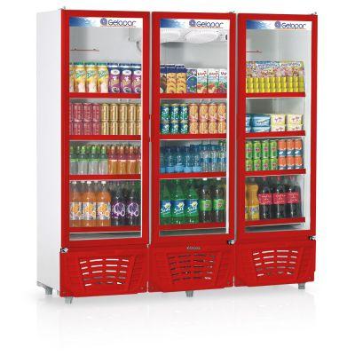 Refrigerador Vertical Visa Cooler GRVC-1450 Gelopar