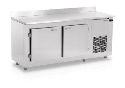 Bancada Refrigerada de Encosto Inox Ar Forçado GBFE-190 Gelopar