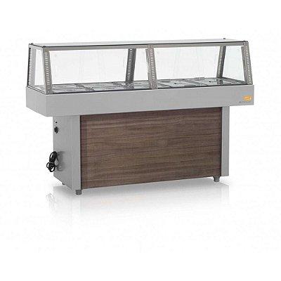 Buffet Refrigerado Com Portas Deslizantes GMRF-150 Gelopar