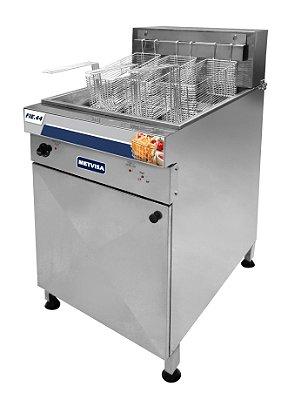 Fritadeira Industrial Elétrica Água e Óleo 44L FIE.44 - Metvisa
