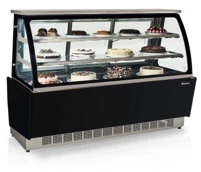 Vitrine Refrigerada Dupla Função Linha Gourmet Elegance GGSR-180 PR Gelopar