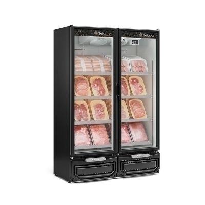 Refrigerador Expositor para Carnes 2 Portas vidro GCBC-950 PR