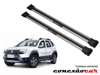 Travessa de Teto Larga Duster 2012 a 2015 Heavy Car
