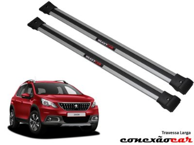 Travessa de Teto Larga Peugeot 2008 Heavy Car
