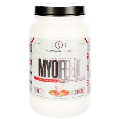 Proteína - Morango com pedaços de morango liofilizado - 30 doses