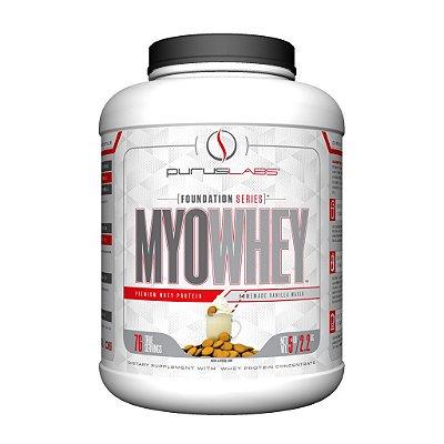 Proteína Concentrada Myowhey - Baunilha - 2KG (76 doses)
